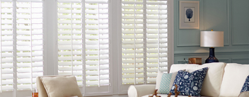 Here at Abbey Carpet & Floor at Patricia's we are your local Plantation Shutters provider.