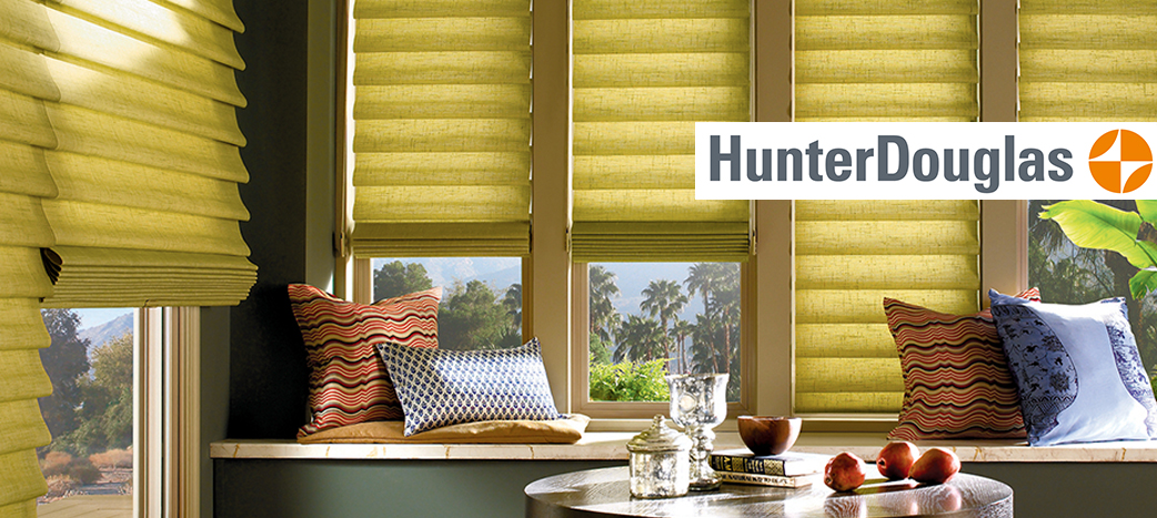 Hunter Douglas Window Fashions available at Abbey Carpet & Floor at Patricia's in Cape Coral